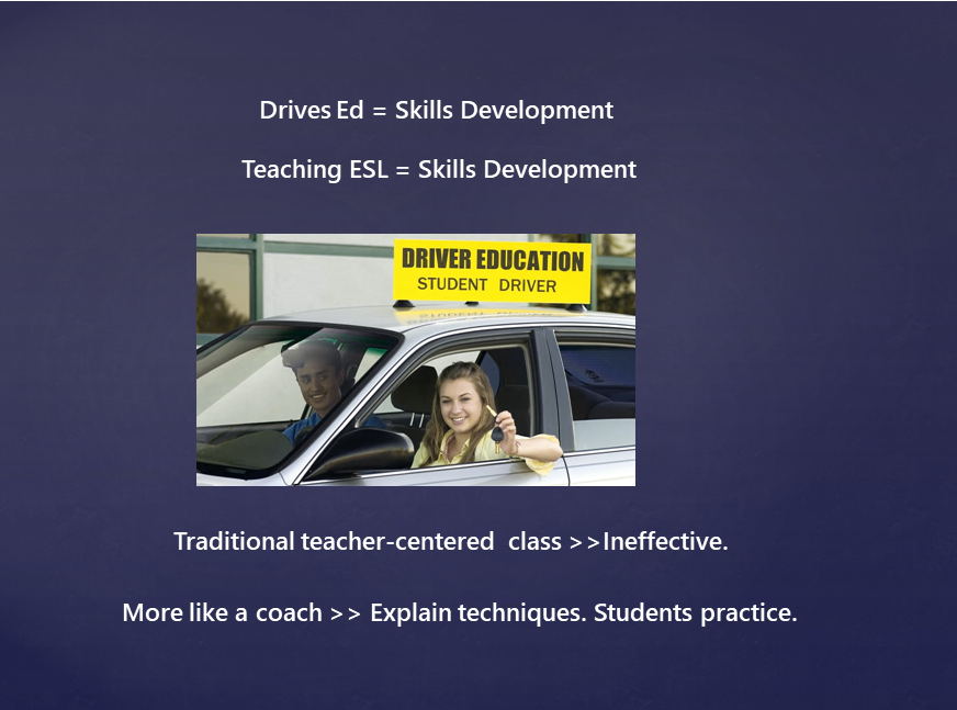 Cover intro to ESL Student Centered shot
