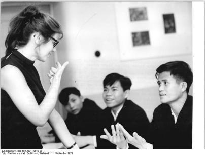 Leipzig, Herder-Institut, Gaststudenten