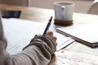 Editing student