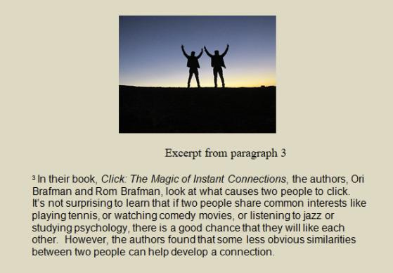 Click cover excerpt shot