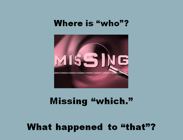 Cover missing who Shot